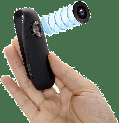 Skjult lommekamera med mikrofon | Spaningsbutikken