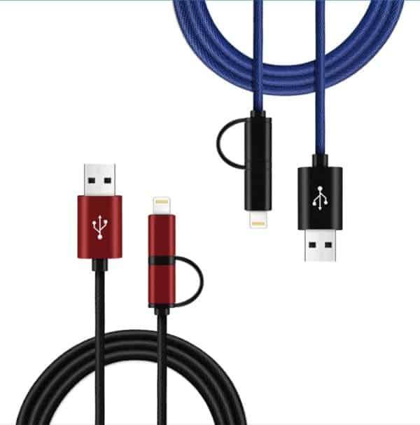 GPS USB Ladekabel med lydopptak | Spaningsbutikken